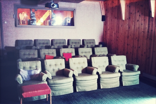 Ingmar Bergman's private screening room