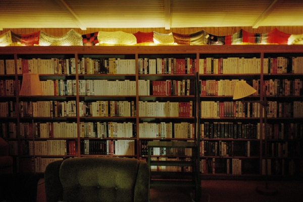 Ingmar Bergman's video library at Hammars