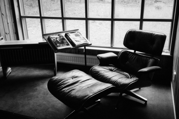 Ingmar Bergman's chair at Hammars