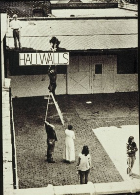 The founders of Hallwalls