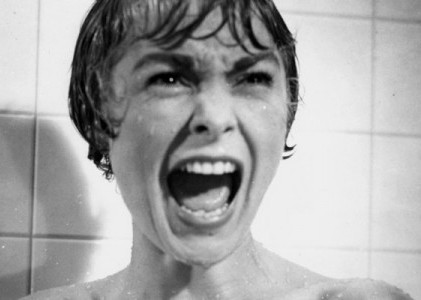 Janet Leigh in Psycho directed by Alfred Hitchcock